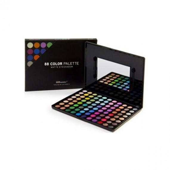 BH Cosmetics 88 Color Matte Eyeshadow Palette Matte-0