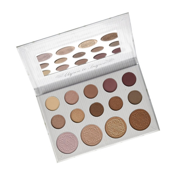 BH Cosmetics Carli Bybel 10 Color Eyeshadow & 4 Color Highlighter Palette-0