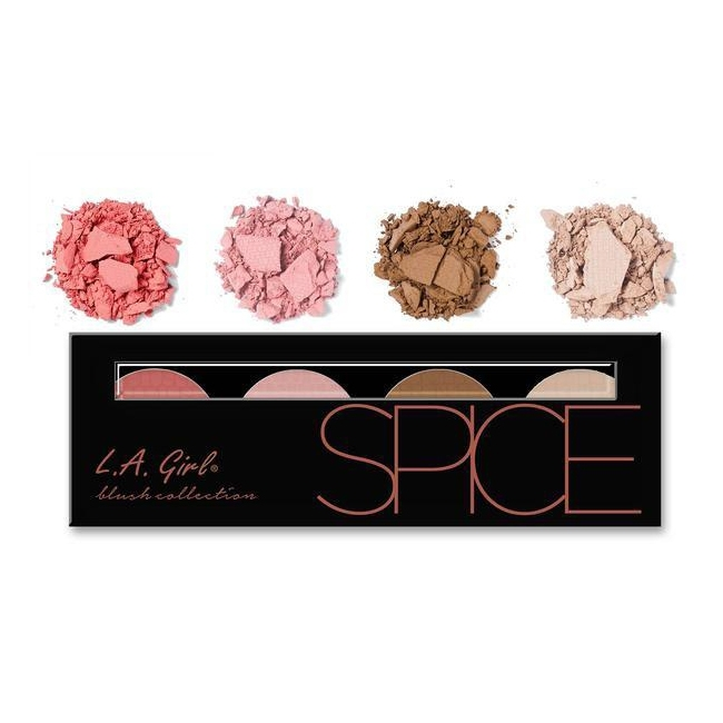 L.A. Girl Beauty Brick Blush Collection Spice-0