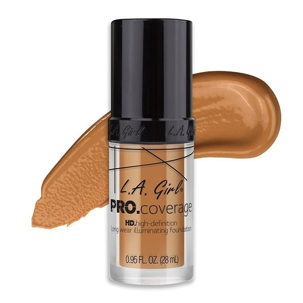 L.A. Girl Pro Coverage Illuminating Foundation- Warm Beige-0