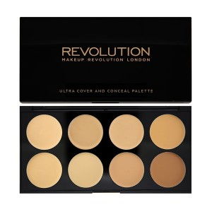Revolution Ultra Cover and Conceal Palette - Light Medium-0