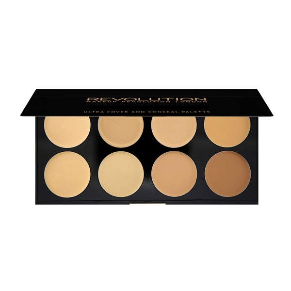 Revolution Ultra Cover and Conceal Palette - Light Medium-3275