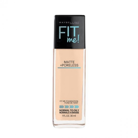 Maybelline Fit Me Matte + Poreless Foundation- Classic Ivory 120-0