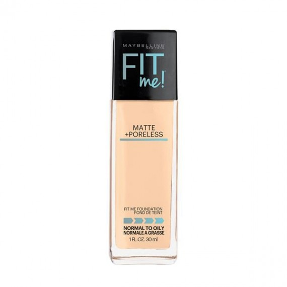 Maybelline Fit Me Matte + Poreless Foundation- Warm Nude 128-0