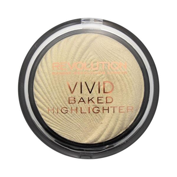Revolution Vivid Baked Highlighter - Golden Lights-0