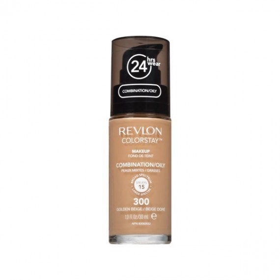 Revlon ColorStay Foundation For Combination/Oily Skin - Golden Beige 300-0