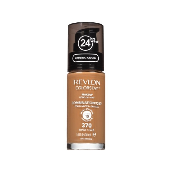 Revlon ColorStay Foundation For Combination/Oily Skin - Toast 370-0