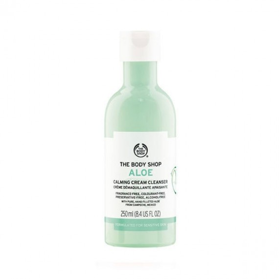 The Body Shop Aloe Calming Cream Cleanser-0