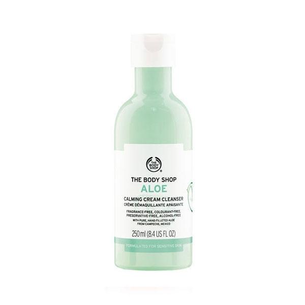 The Body Shop Aloe Calming Cream Cleanser-0