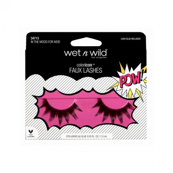 wet n wild Coloricon Faux Lashes - In The Mood For Mod-0