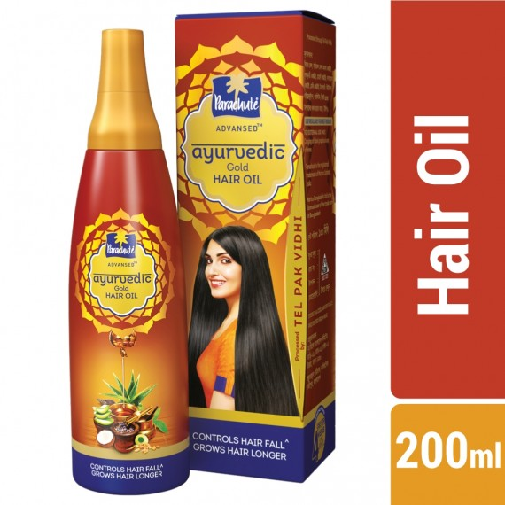 Parachute Advanced Ayurvedic Gold Hair Oil-0