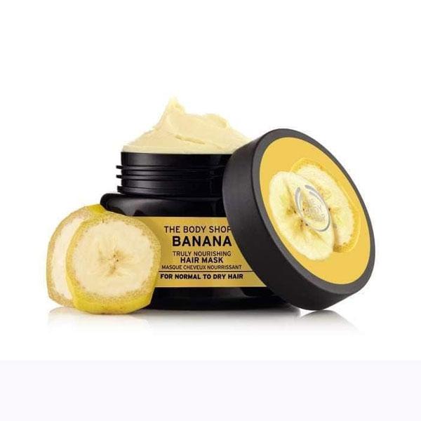 The Body Shop Banana Truly Nourishing Hair Mask-4395