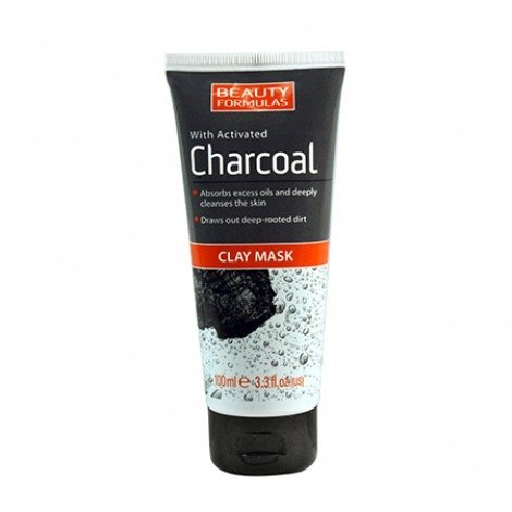Beauty Formulas With Activated Charcoal Clay Mask-0