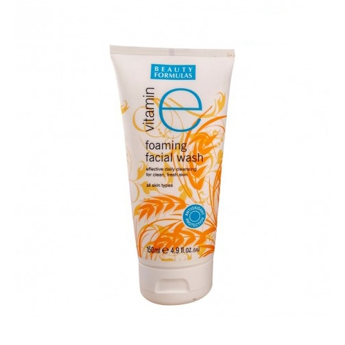 Beauty Formulas Vitamin E Foaming Facial Wash-0