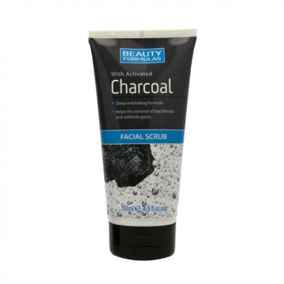 Beauty Formulas Charcoal Facial Scrub-0