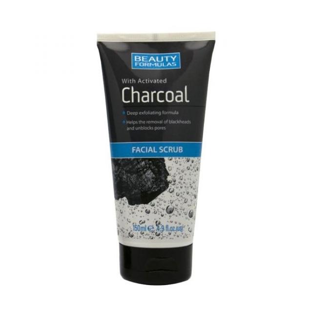 Beauty Formulas Charcoal Facial Scrub-0
