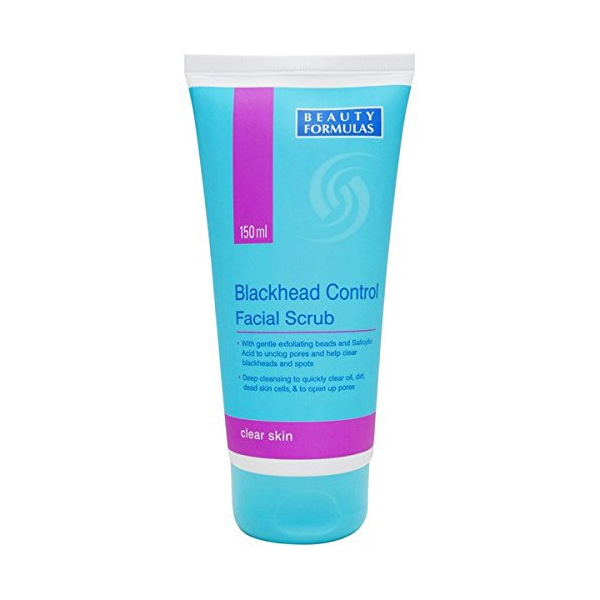 Beauty Formulas Blackhead Control Facial Scrub -0