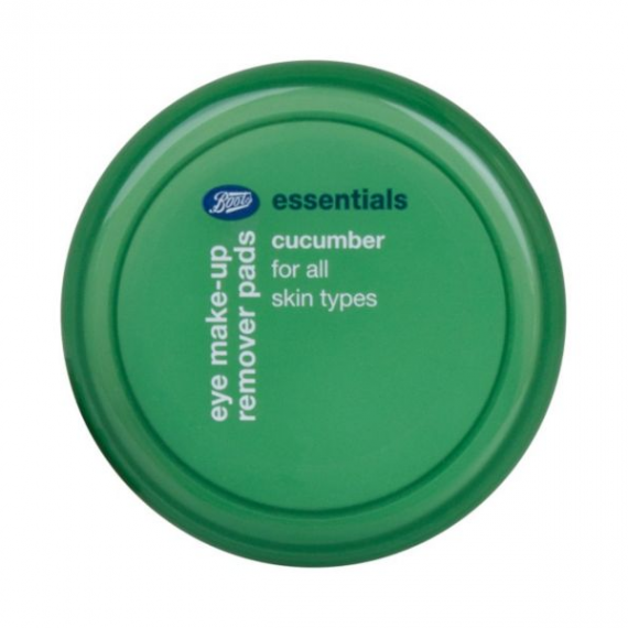 Boots Essentials Cucumber Eye Make Up Remover Pads-0