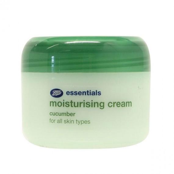 Boots Essentials Cucumber Moisturising Cream -0