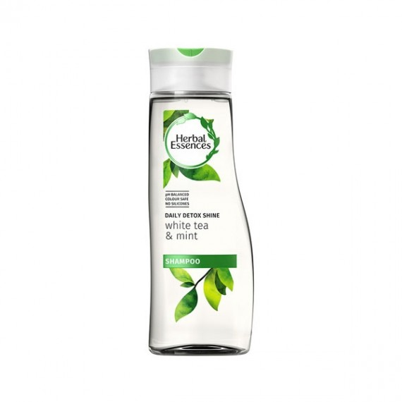 Herbal Essences Daily Detox Shine White Tea & Mint Shampoo-0