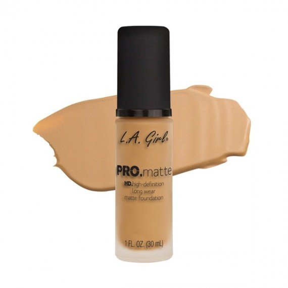 L.A. Girl PRO Matte Foundation - GLM674 Natural-0