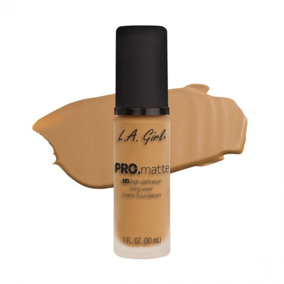 L.A. Girl PRO Matte Foundation - GLM676 Light Tan-0