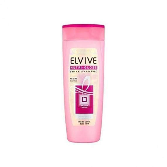 L'Oreal Elvive Nutri Gloss Shine Shampoo-0