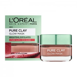 L'Oreal Pure Clay Glow Mask-4517