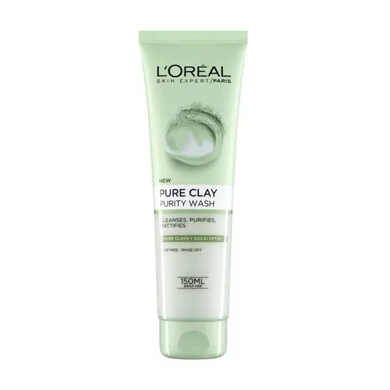 L'Oreal Pure Clay Purity Wash-0
