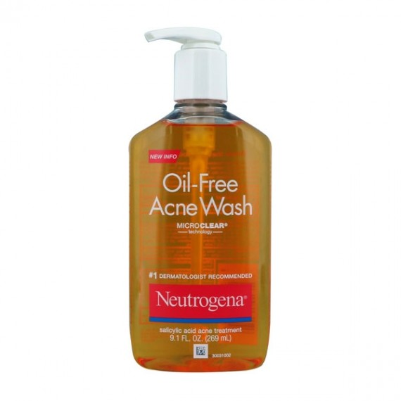 Neutrogena Oil Free Acne Wash-0