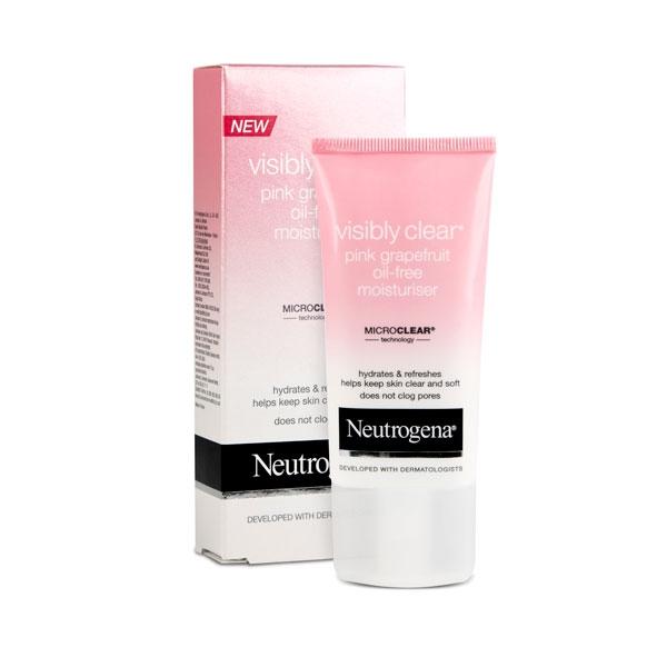 Neutrogena Visibly Clear Pink Grapefruit Oil Free Moisturiser Shajgoj