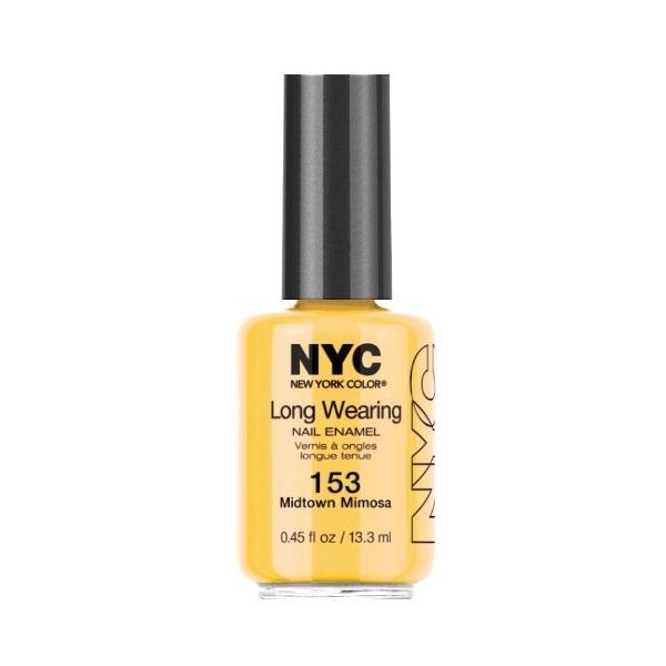 NYC Long Wearing Nail Enamel – Midtown Mimosa 153