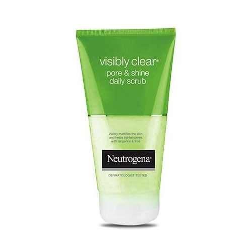 Neutrogena VISIBLY CLEAR Pore & Shine Daily Scrub-0