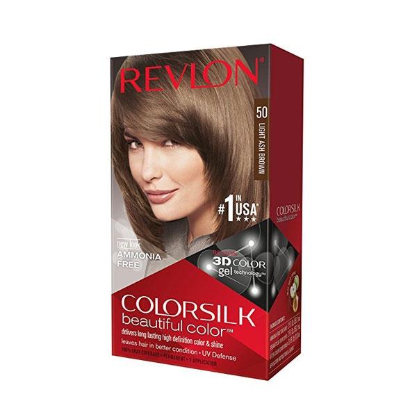 Revlon Colorsilk Hair Color Light Ash Brown 50-0