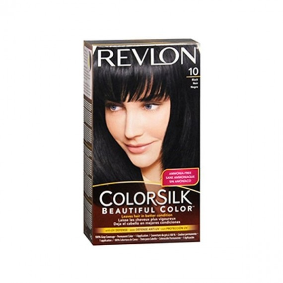 Revlon Colorsilk Hair Color Black 10 -0