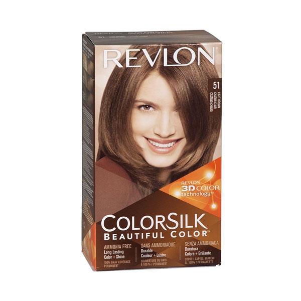 Revlon Colorsilk Hair Color Light Brown 51 -0