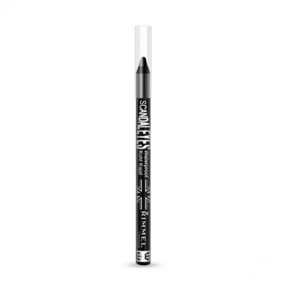 Rimmel Scandaleyes Waterproof Kohl Kajal- 001 Black-3628