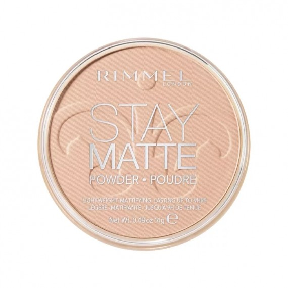 Rimmel Stay Matte Pressed Powder - 003 Peach Glow-0