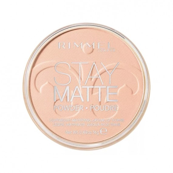 Rimmel Stay Matte Pressed Powder - 002 Pink Blossom-0