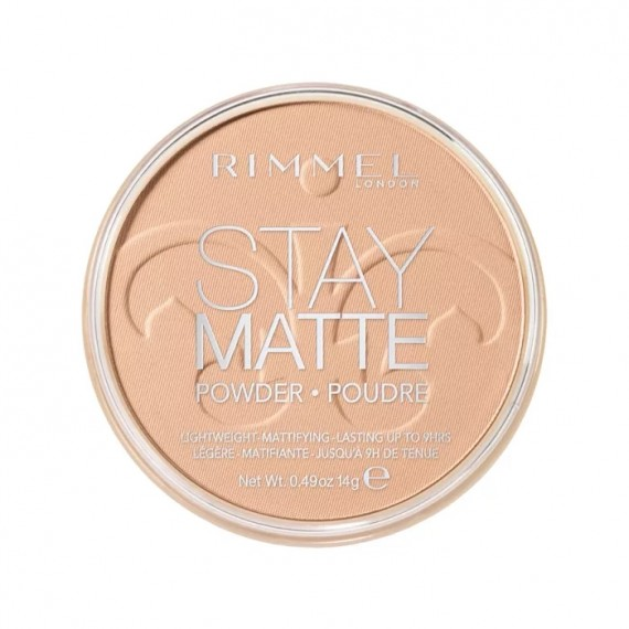 Rimmel Stay Matte Pressed Powder - 005 Silky Beige -0