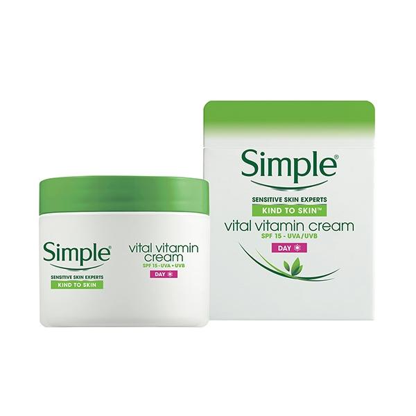 Simple Kind To Vital Vitamin Day Cream-0