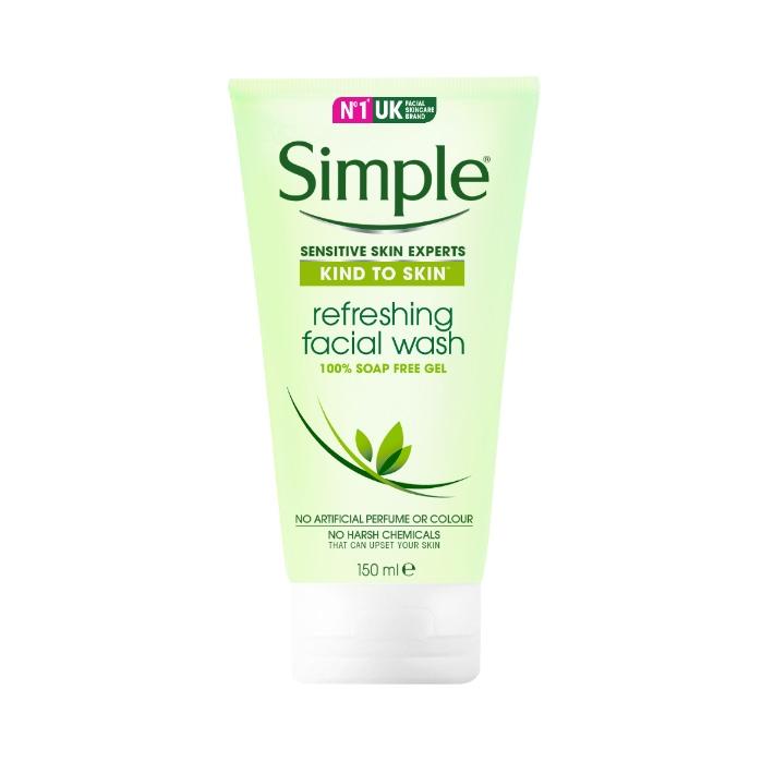 Simple Kind To Skin Refreshing Facial Wash Gel-0