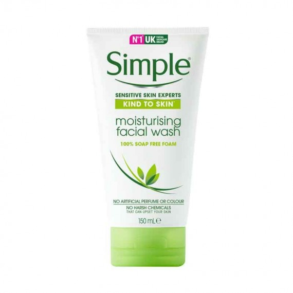 Simple Kind to Skin Moisturising Facial Wash-0