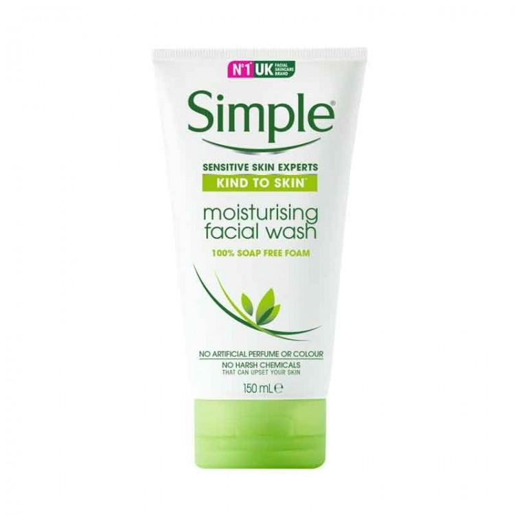 Simple Kind to Skin Moisturising Facial Wash-0