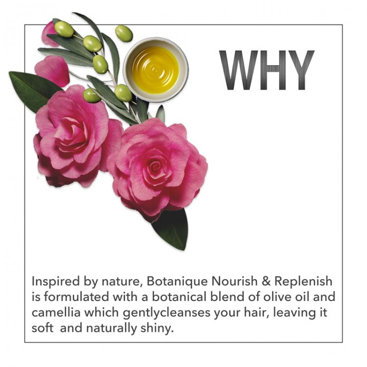TRESemmé Shampoo Botanique Nourish and Replenish -8166