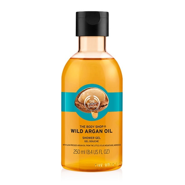 The Body Shop Wild Argan Oil Shower Gel-0