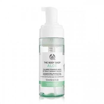 The Body Shop Aloe Calming Foaming Wash-0