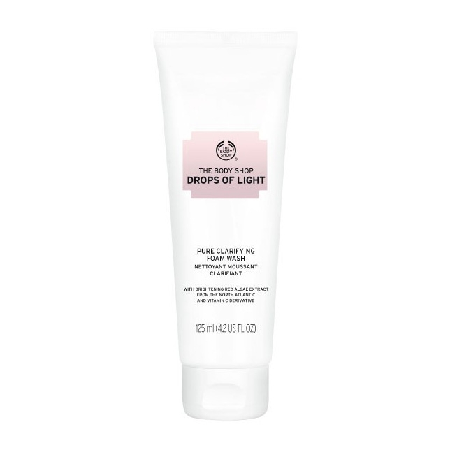 The Body Shop Drops Of Light Pure Clarifying Foam Wash-0
