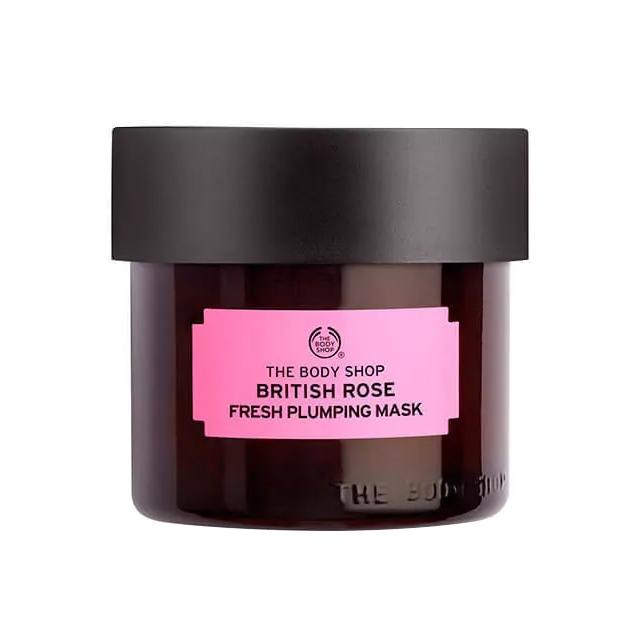 The Body Shop British Rose Fresh Plumping Mask-0