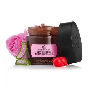 The Body Shop British Rose Fresh Plumping Mask-4298